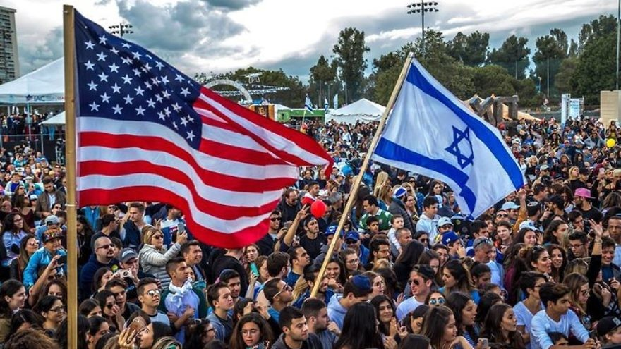 "The Israeli-American Council's ""Celebrate Israel"" festival in Los Angeles in 2017. Source: Facebook."