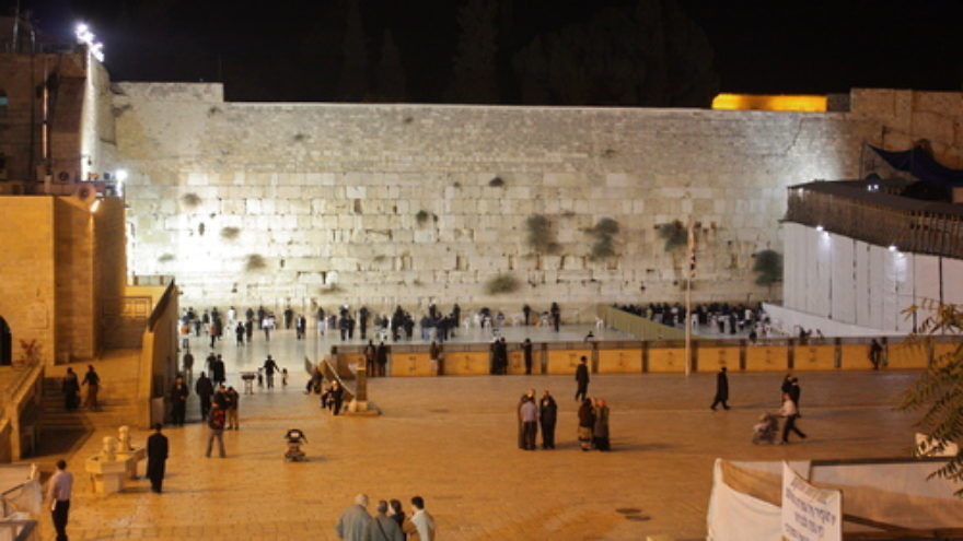 Click photo to download. Caption: The Western Wall. Credit: Kyle Taylor via Wikimedia Commons.