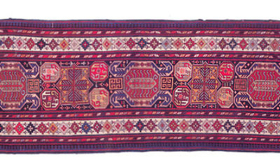 Click photo to download. Caption: A rug from Karabakh. Credit: Courtesy Vugar Dadashov/Azerbaijan Rugs/azerbaijanrugs.com.