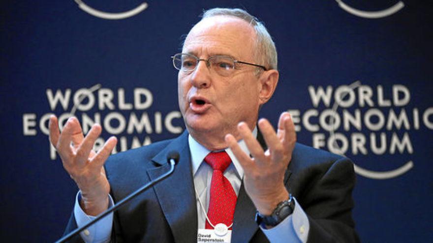 Click photo to download. Caption: Rabbi David Saperstein. Credit: World Economic Forum.