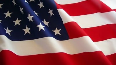 The American flag. Credit: Wikimedia Commons.