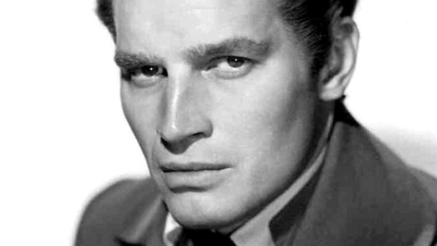 """Click photo to download. Caption: Charlton Heston, pictured, starred in biblical epic films including """"The Robe"""" (1953), the Passover-related """"The Ten Commandments"""" (1956), """"Ben-Hur"""" (1959), and """"The Greatest Story Ever Told"""" (1965). Credit: 20th Century Fox Studios via Wikimedia Commons."""