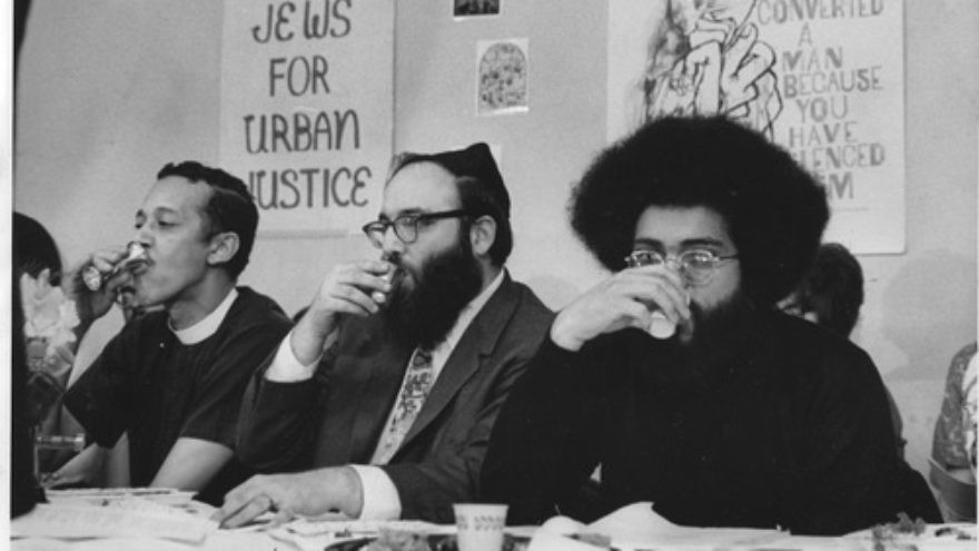 "Click photo to download. Caption: Rabbi Arthur Waskow's original ""Freedom Seder"" in 1969. Credit: Courtesy Rabbi Arthur Waskow."