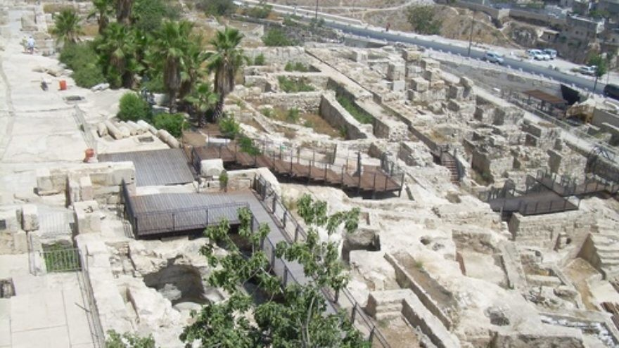 Click photo to download. Caption: The Jerusalem Archaeological Park - Davidson Center. Credit: Nemo/Wikimedia Commons.