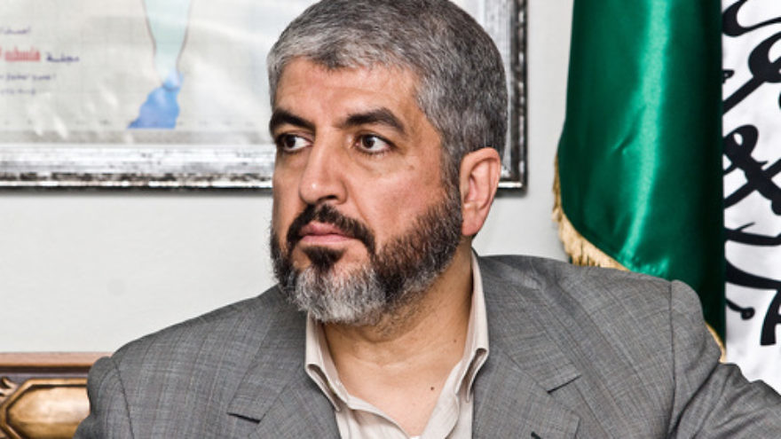 Khaled Mashaal, a former leader of the Hamas terror group. Credit: Trango via Wikimedia Commons.
