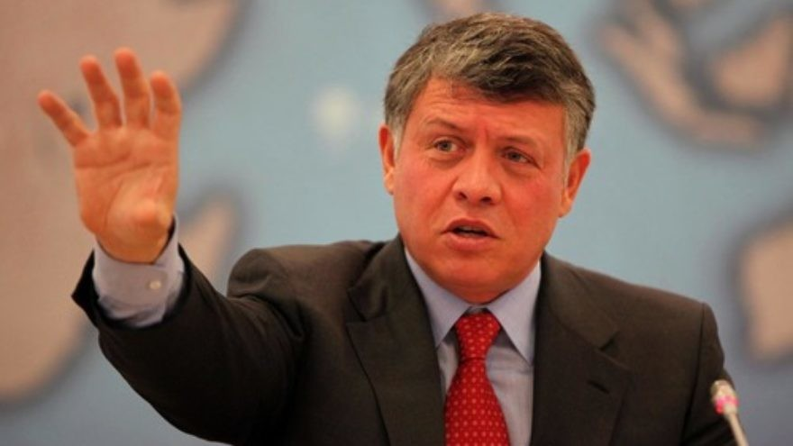 King Abdullah of Jordan. Credit: Chatham House.