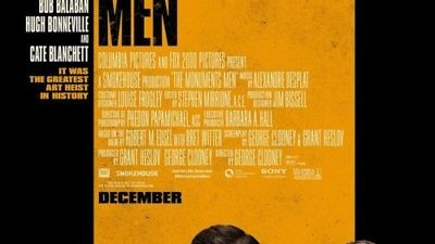 """Click photo to download. Caption"""" The movie poster for George Clooney's """"The Monuments Men."""" Credit: Monuments Men Press Kit."""