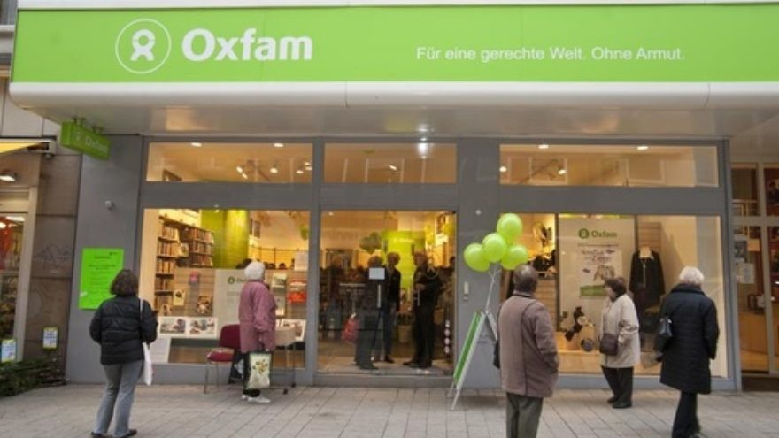 Click photo to download. Caption: An Oxfam International shop in Dortmund, Germany. Credit: Oxfam Deutschland.
