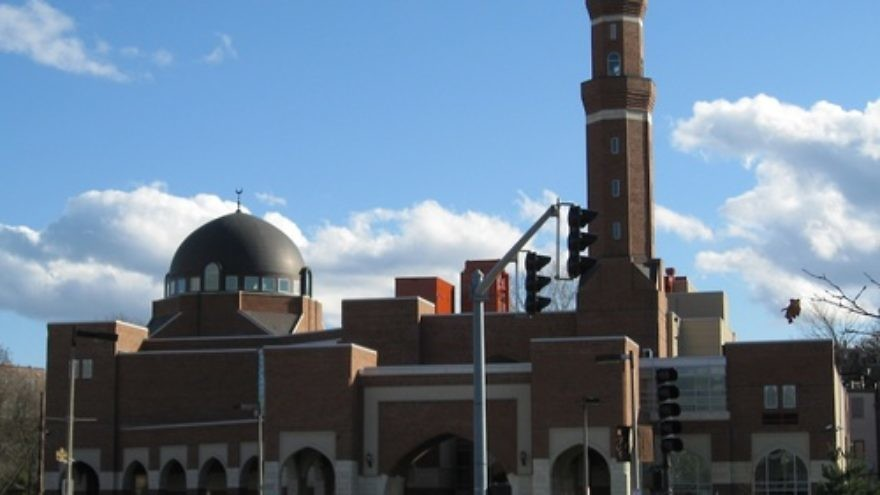The Islamic Society of Boston Cultural Center in Roxbury Crossing, Mass., whose imam was replaced as the Muslim speaker for Thursday's interfaith service in Boston for the Boston Marathon attack victims. Credit: Biruitorul/Wikimedia Commons.