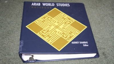 "The anti-Israel ""Arab World Studies Notebook,"" pictured, has been used to educate Massachusetts students in the Newton schools. Photo Credit: Amazon."