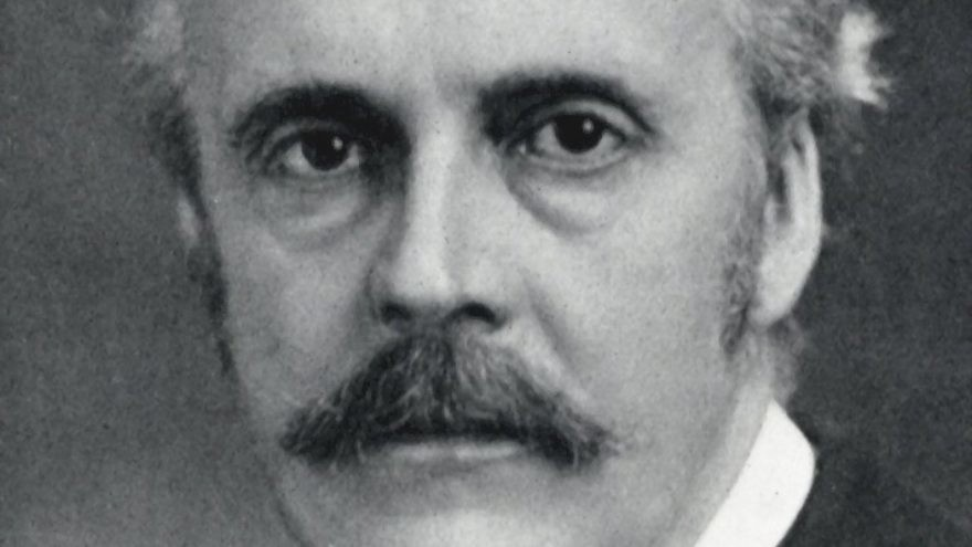 Arthur James Balfour, the signatory to the Balfour Declaration. Credit: Wikimedia Commons.