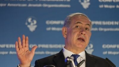 Israeli Prime Minister Benjamin Netanyahu. Credit: Flash90.