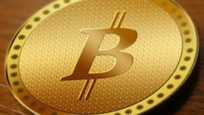 A logo for the bitcoin digital currency. Credit: Facebook.