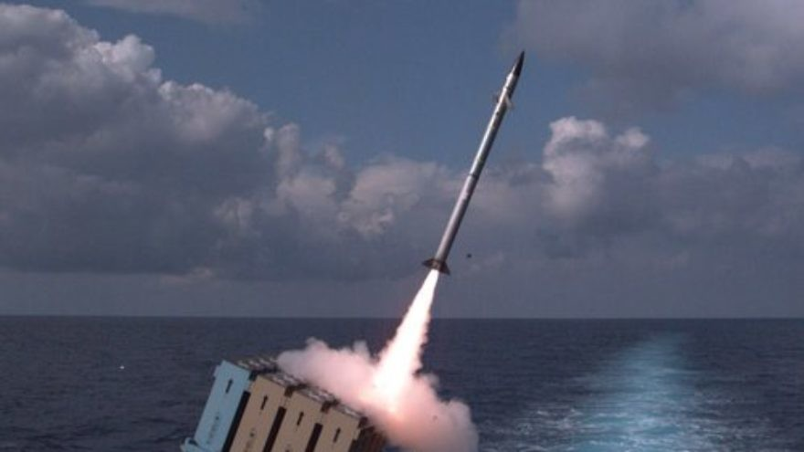 C-Dome, the new maritime version of Israel's Iron Dome anti-rocket system. Credit: IDF Spokesperson's Unit.