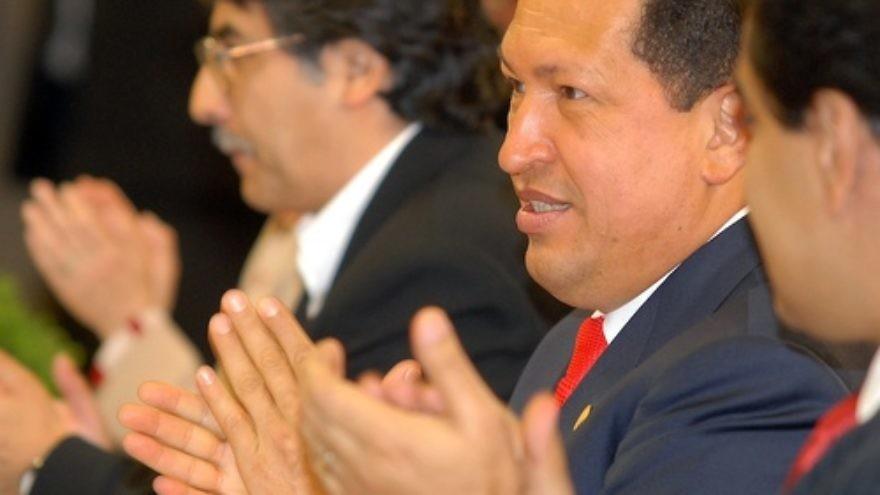 Hugo Chavez. Credit: Antônio Cruz/ABr.