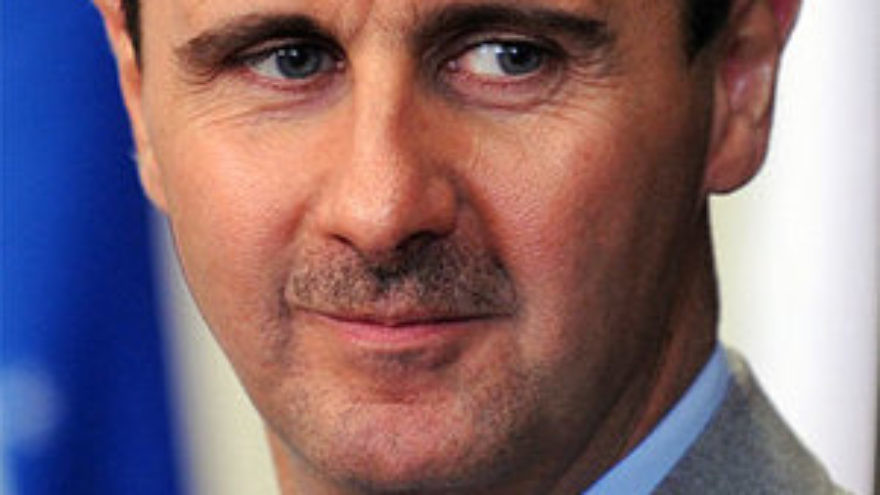 AIPAC now supports the U.S. legislation against Syrian President Bashar Assad. Credit: Wikimedia Commons.