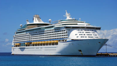 Click photo to download. Caption: The Royal Caribbean Adventure of the Seas (pictured) is offering a trip out of Miami for either three or seven nights, organized by the Passover Kosher Cruises company. Credit: Totallyjewishtravel.com.