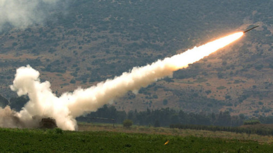An Israeli rocket fired at a Hezbollah target during the Second Lebanon War in 2006. Credit Haim Azulay  Flash90