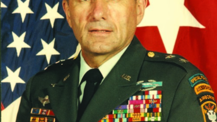Maj. Gen. Sidney Shachnow. Credit: JINSA.