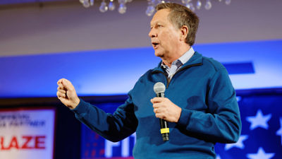 Click photo to download. Caption: Ohio Governor John Kasich. Credit: Michael Vadon via Wikimedia Commons.