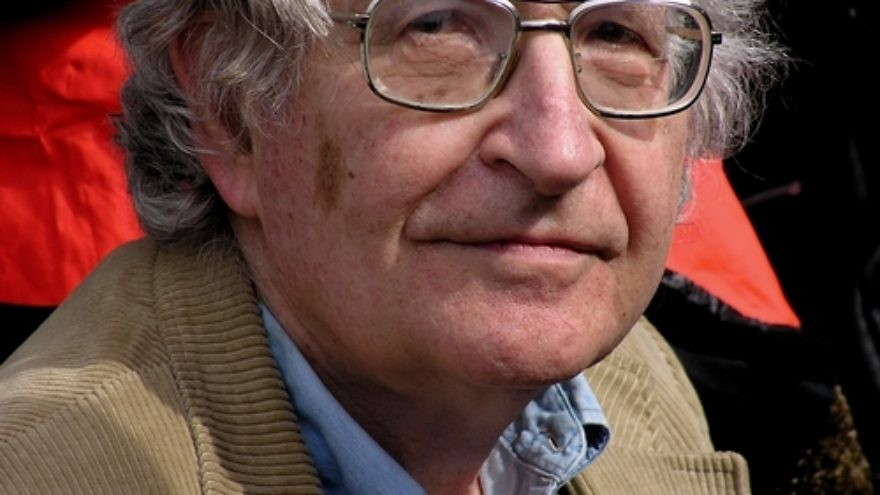 Click photo to download. Caption: Noam Chomsky. Credit: Duncan Rawlinson via Wikimedia Commons.