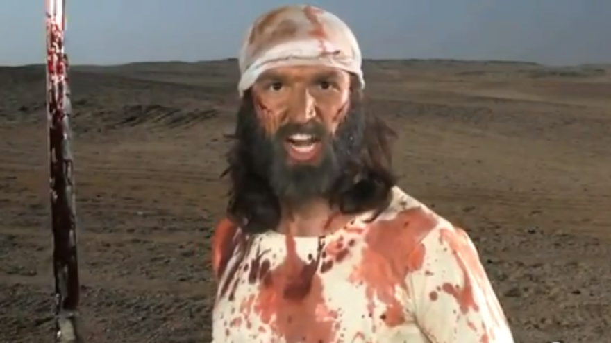 """Click photo to download. Caption: The controversial depiction of the Prophet Muhammad in """"Innocence of Muslims,"""" a film that sparked attacks at five U.S. embassies in the Middle East. Credit: YouTube."""