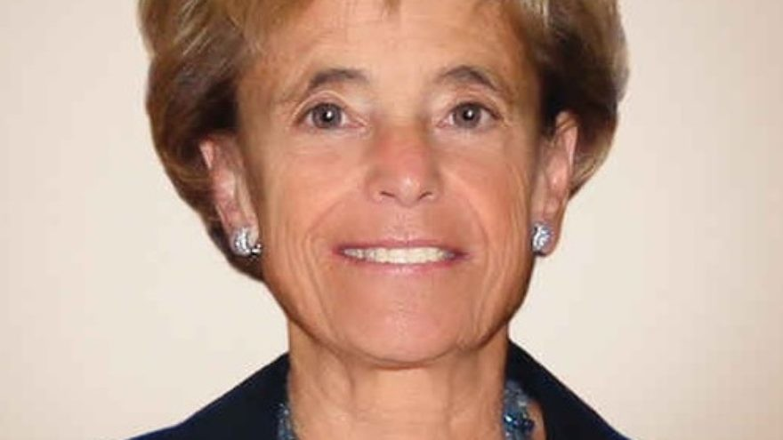 Click photo to download. Caption: Myra Kraft. Credit: Courtesy of Combined Jewish Philanthropies, Boston.