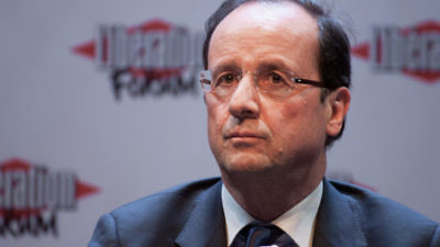 French President François Hollande. Credit: Matthieu Riegler via Wikimedia Commons.