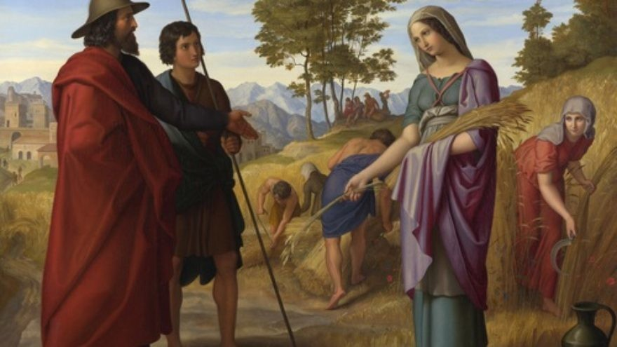 Click photo to download. Caption: An illustration of Ruth in Boaz's field. Credit: Julius Schnorr von Carolsfeld - National Gallery, London via Wikimedia Commons.