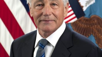 Defense Secretary Chuck Hagel. Credit: Monica A. King.