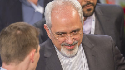 Iranian Foreign Minister Mohammad Javad Zarif. Photo: Marc Müller via Wikimedia Commons.