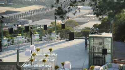 Click photo to download. Caption: The Yam Carmel wedding venue in the Ofer Forest near Haifa. Credit: Yam Carmel.