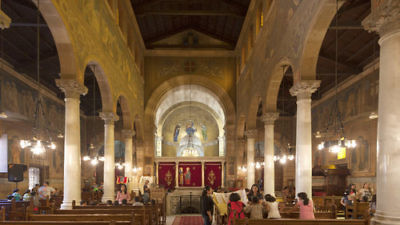 The interior of Cairo's Coptic St. Peter and St. Paul's Church, where 29 Christians were killed in a December 2016 Islamic State terror attack. Credit: Roland Unger via Wikimedia Commons.