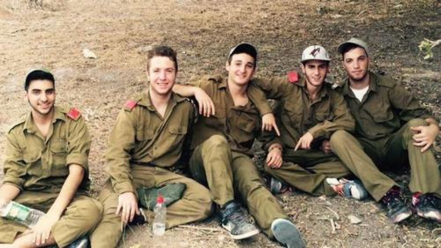 Click photo to download. Caption: Pictured in center is the late Ezra Schwartz, an American yeshiva student killed by a Palestinian terror attack on Nov. 19. Credit: Facebook.