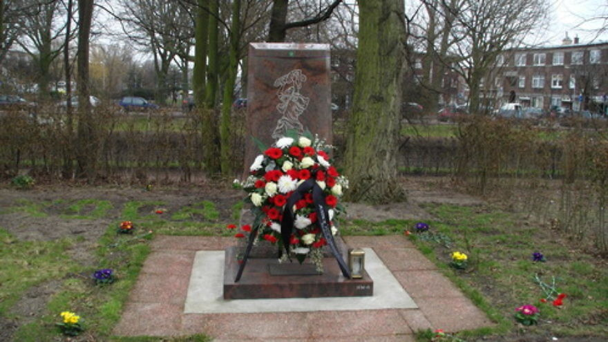 Click photo to download. Caption: A Khojaly massacre memorial in The Hague, Netherlands. Credit: Mursel via Wikimedia Commons.