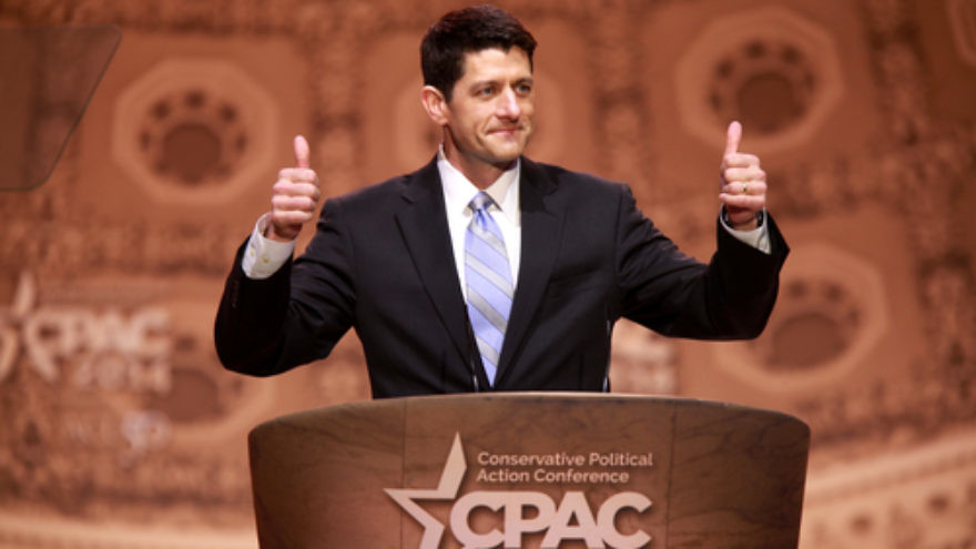 Click photo to download. Caption: U.S. Rep. Paul Ryan (R-Wis.) at the 2014 Conservative Political Action Conference in Washington, DC. Credit: Gage Skidmore via Wikimedia Commons