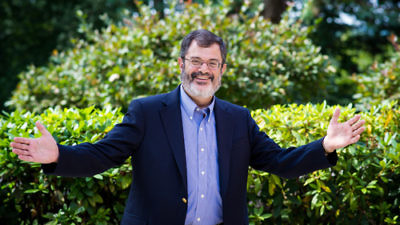 Click photo to download. Caption: Rabbi Eric Gurvis (pictured) of Temple Shalom in Newton, Mass., has performed a handful of bar and bat mitzvah ceremonies for transgender teenagers. Credit: Temple Shalom.