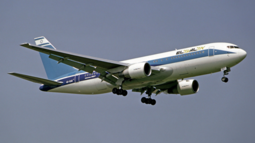 Click photo to download. Caption: An El Al plane. The Israeli airline has been among the companies receiving loan guarantees from the United States Export-Import Bank, which faces an uncertain future. Credit: Steve Fitzgerald via Wikimedia Commons.