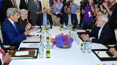 Click photo to download. Caption: Iran's nuclear negotiations with the U.S. and other world powers in July 2014. Credit: U.S. State Department.
