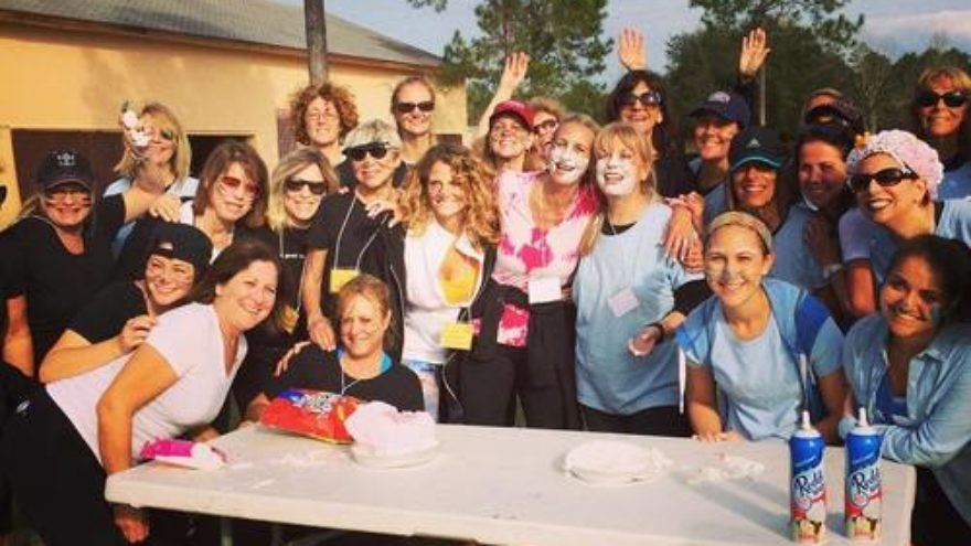 The Campowerment program for women at central Florida's Camp Shalom. Credit: Camp Shalom.
