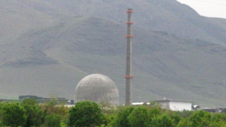 The IR40 Heavy Water reactor facility, near Arak, Iran. Credit: Nanking2010.