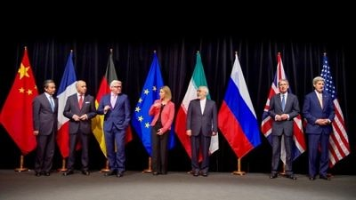 Representatives of Iran and the P5+1 world powers pose for a group photo in Vienna, Austria, following the July 14, 2015, announcement of the Iran nuclear deal. Credit: U.S. State Department.