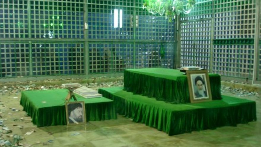 The mausoleum of former Supreme Leader Ayatollah Ruhollah Khomeini, which was one of two prominent symbols of Iran that came under attack June 7. Credit: Wikimedia Commons.