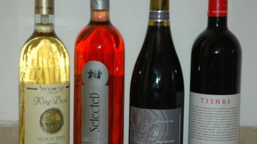Click photo to download. Caption: Israeli wines. Credit: Gilabrand.