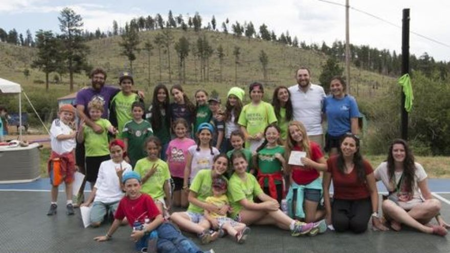 Mexican Jewish campers at Colorado's Ramah in the Rockies. Credit: Mexico City's Congregation Bet El.