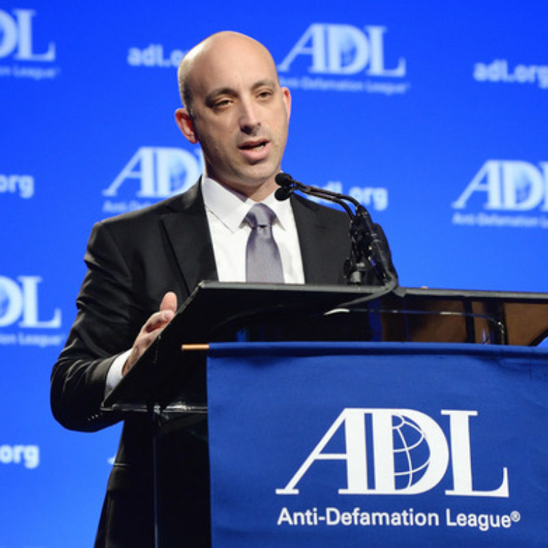 Anti-Defamation League CEO Jonathan Greenblatt. Credit: ADL.