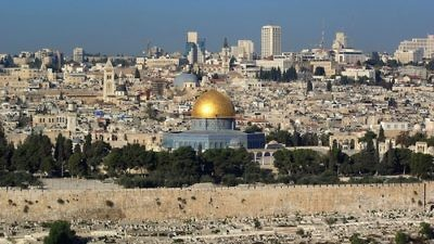 Click photo to download. Caption: A view of Jerusalem. Credit: Berthold Werner.