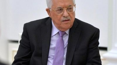 Palestinian Authority leader Mahmoud Abbas. Credit: Kremlin.ru via Wikimedia Commons.