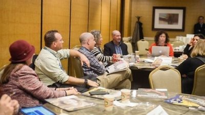 Jewish community newspaper editors and publishers gather at a session of the recent 2016 American Jewish Press Association (AJPA) conference in Washington, DC. Credit: AJPA via Facebook.