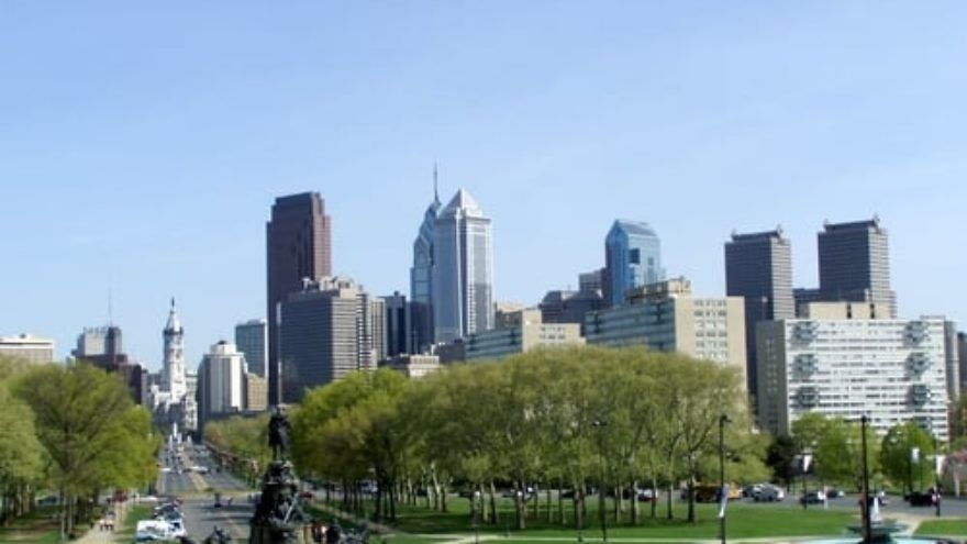 Click photo to download. Caption: The skyline of Philadelphia, a city where Israel is closing its consulate. Credit: Jeffrey M. Vinocur via Wikimedia Commons.